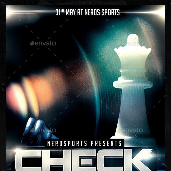 Check Mate Chess Sports Flyer