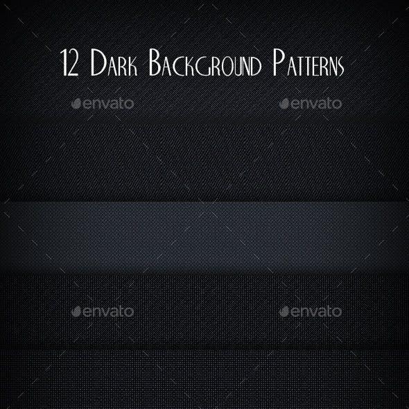 12  Dark Background Patterns