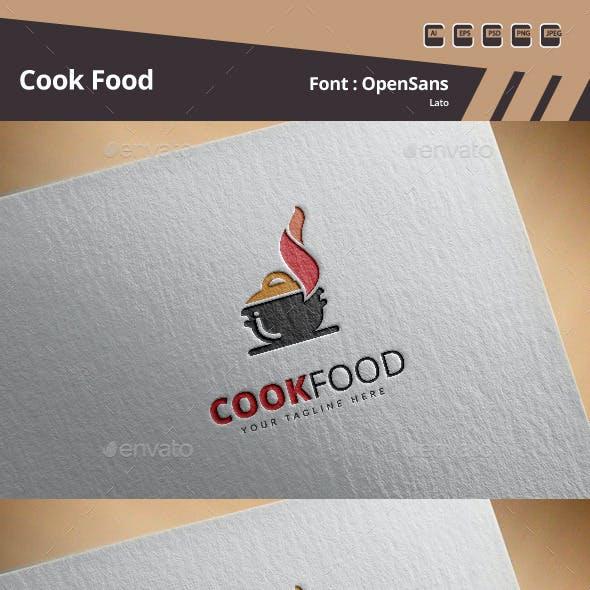 Cook Food Logo Template