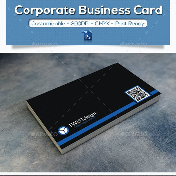 Corporate Business Card V-7