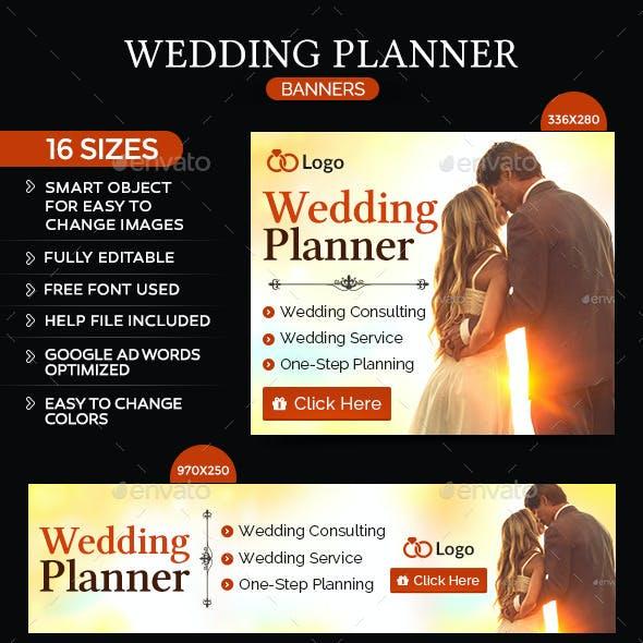 Wedding Planning Banners
