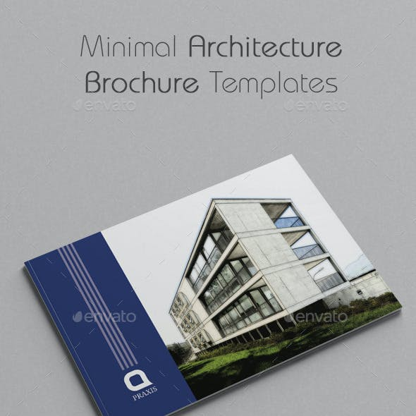 Minimal Architecture Brochure Templates