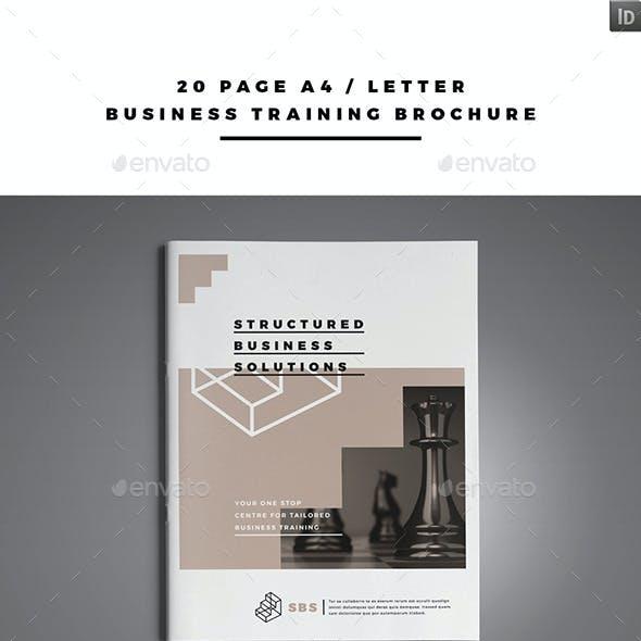 Business Training Brochure