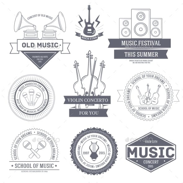 Music Label Set