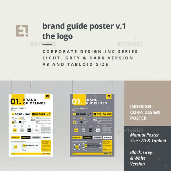 Brand Manual Template One