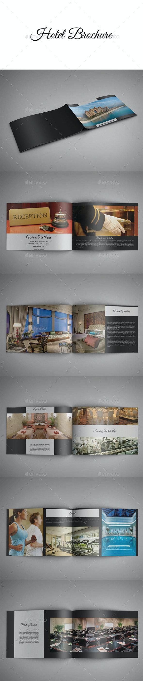 Hotel Brochure - Brochures Print Templates