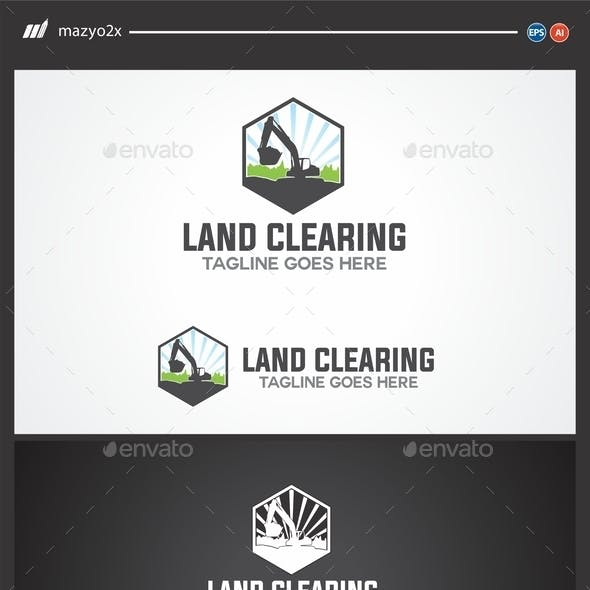 Land Clearing Logo