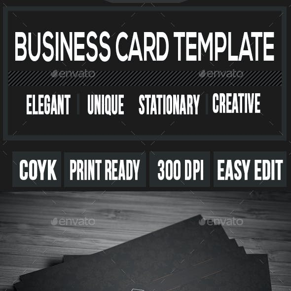 Personal Business Card V-3