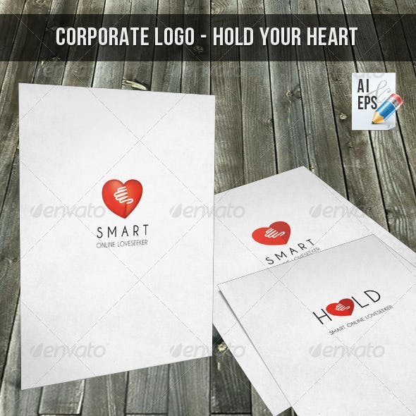 Corporate Logo - Hold Your Heart