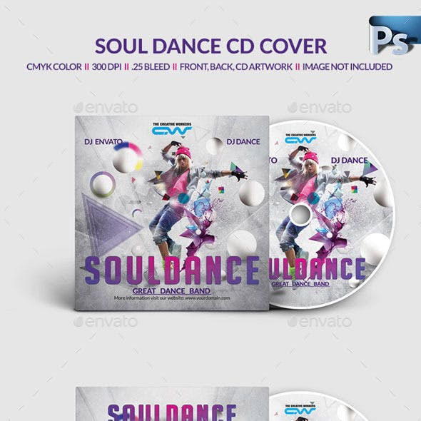 DJ Dance CD Cover