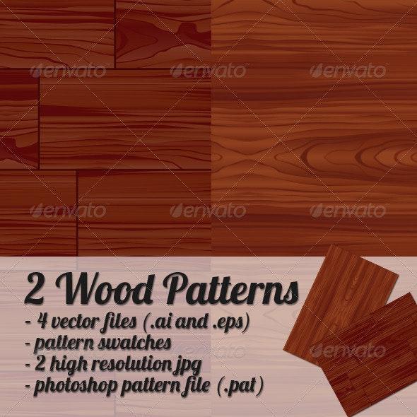 Wood Patterns - Patterns Decorative