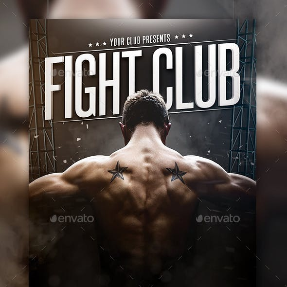 Fight Club Flyer Template