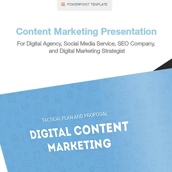 Clean Content Marketing Presentation
