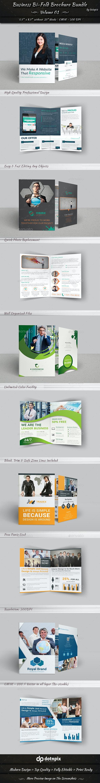 Business Bi-Fold Brochure Bundle | Volume 1 - Corporate Brochures