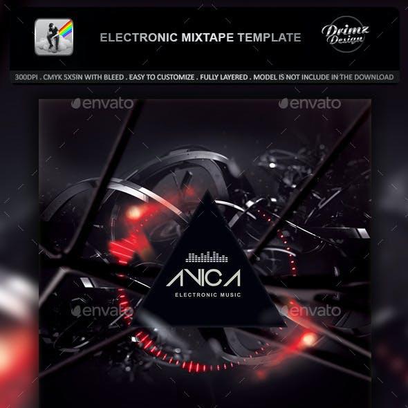Electronic Mixtape Template
