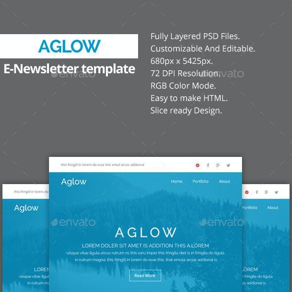 Aglow - Multipurpose E-Newsletter Template