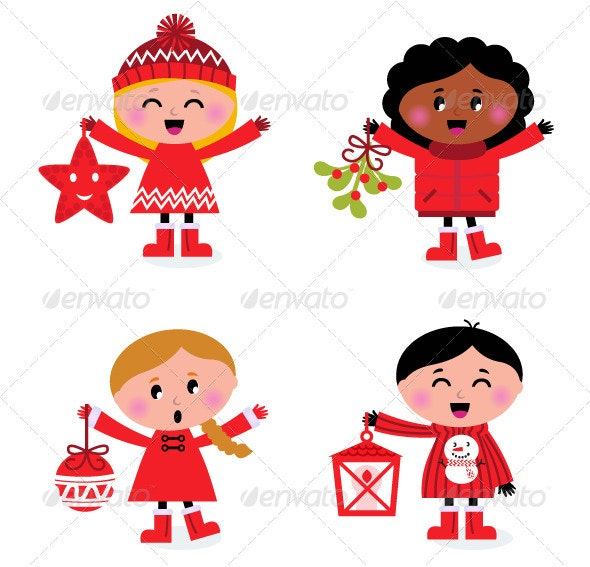 Caroling Christmas Kids Collection - Christmas Seasons/Holidays
