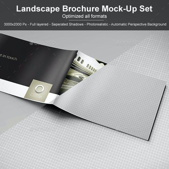 Landscape Brochure Mock-Up Set 2