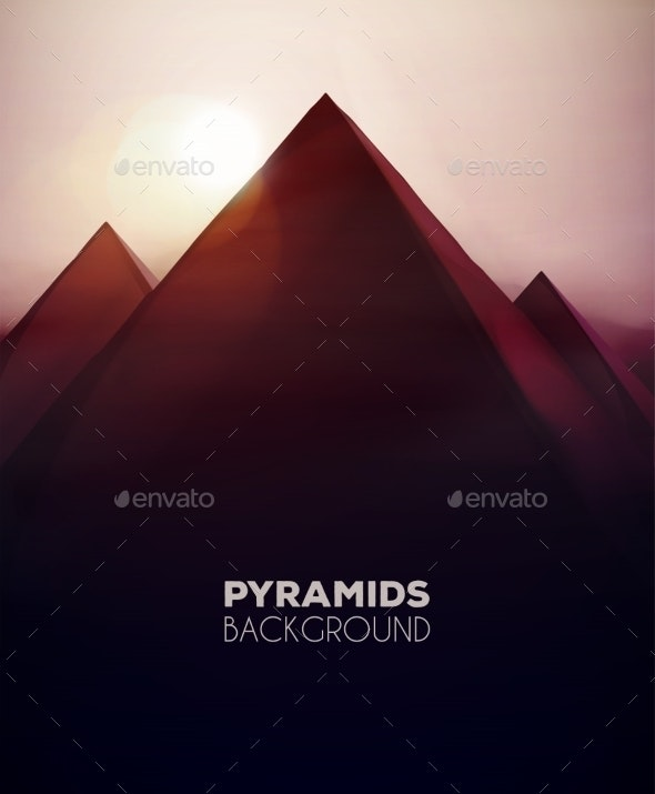 Pyramids Background - Landscapes Nature