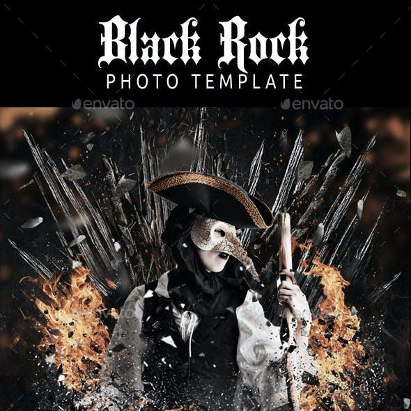Black Rock PhotoTemplate