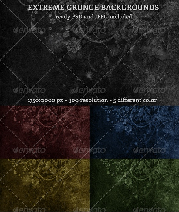 Extreme Grunge Background - Urban Backgrounds