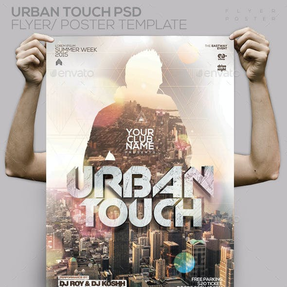 Urban Touch PSD Flyer / Poster Template