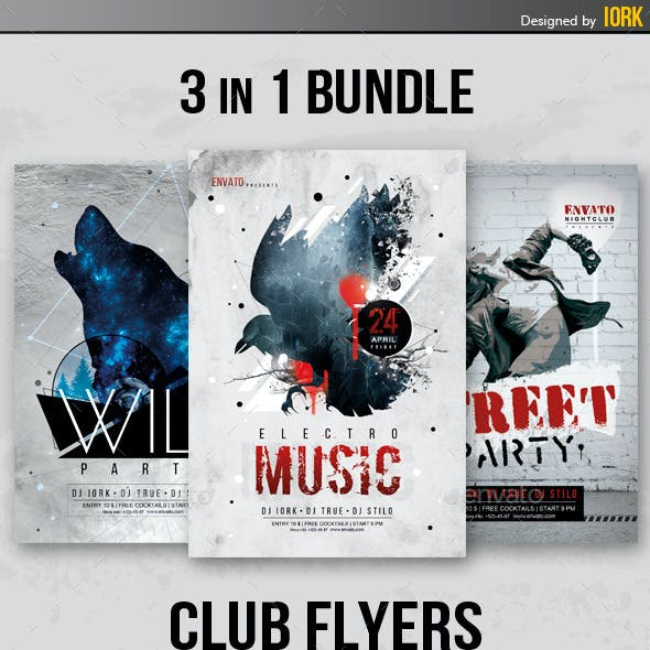 Club Flyers Bundle Vol.4