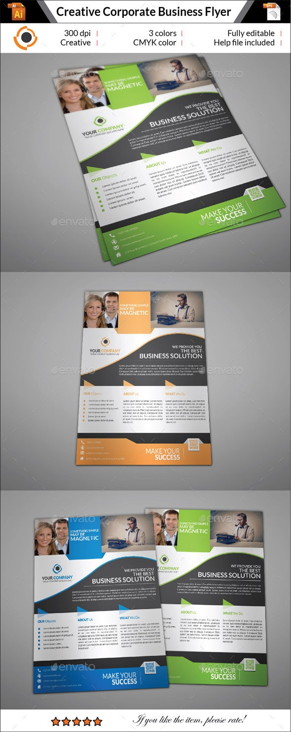 Professional Corporate Business Flyer - Corporate Flyers