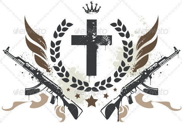 Grunge Gang Design - Decorative Symbols Decorative