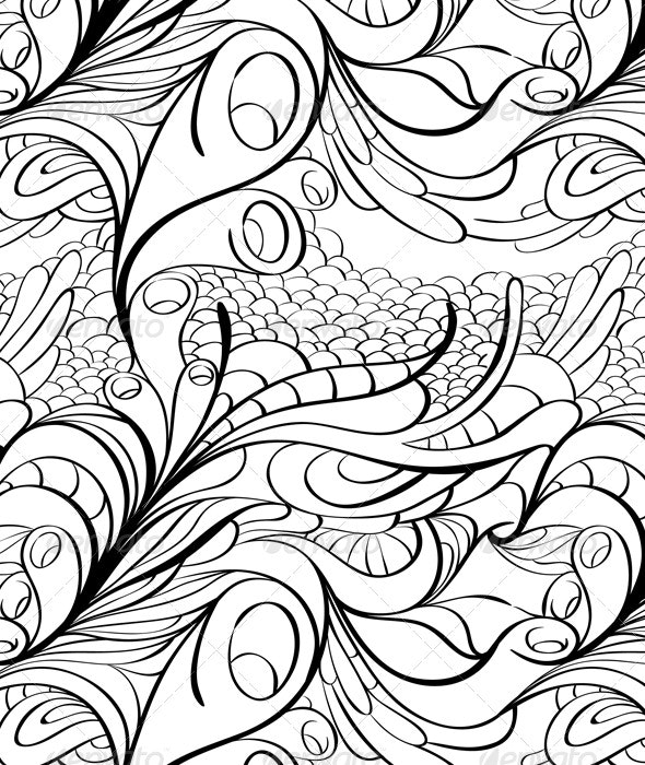 Modern Seamless Texture - Backgrounds Decorative