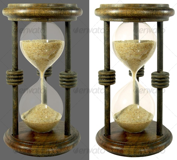 Sand clock - Home & Office Isolated Objects