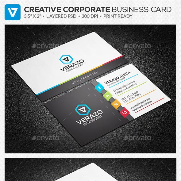 Creative Corporate Business Card 80