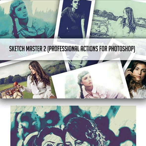 Sketch Master 2 Photoshop Action