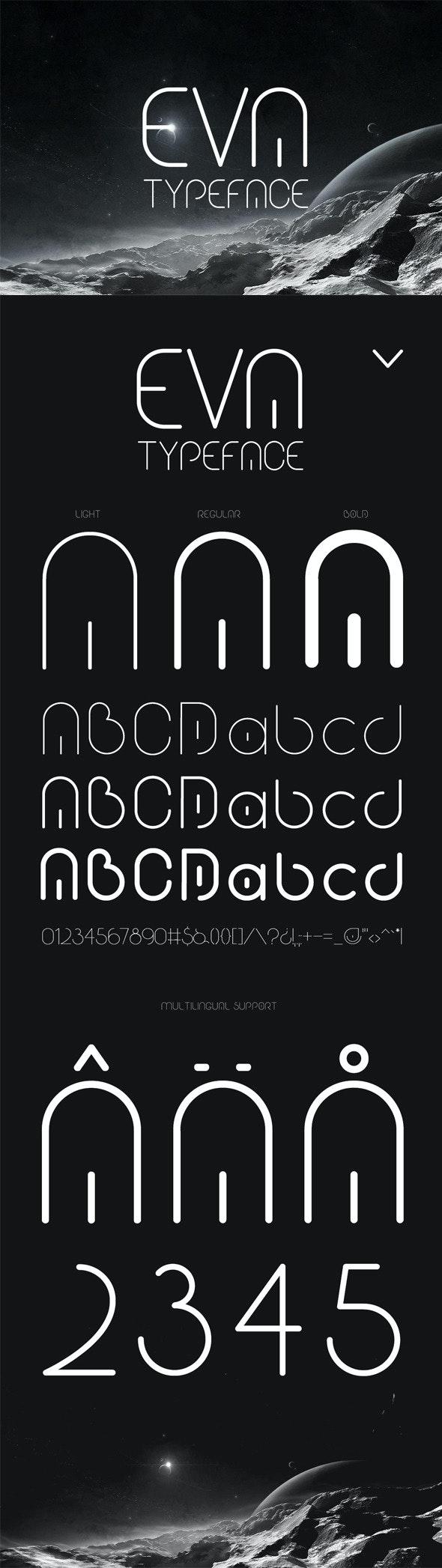 Eva Typeface - Sans-Serif Fonts