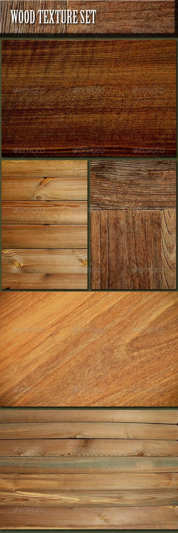 Wood Texture Set - Wood Textures