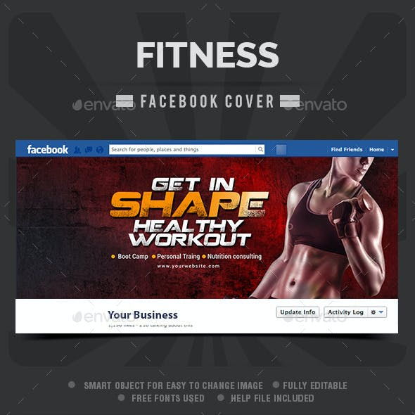 Fitness Facebook Cover