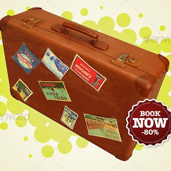 Retro Suitcase Comp