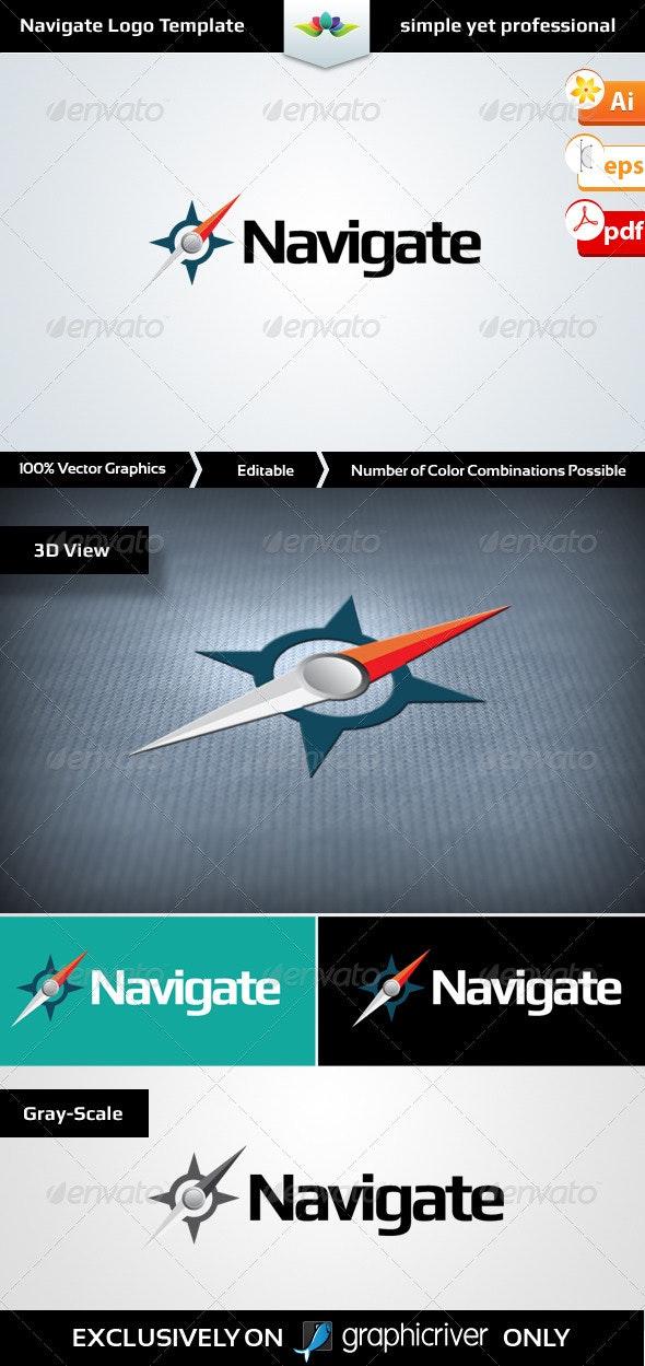 Navigate Logo Template - Symbols Logo Templates