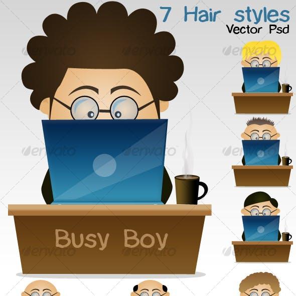 Busy boy