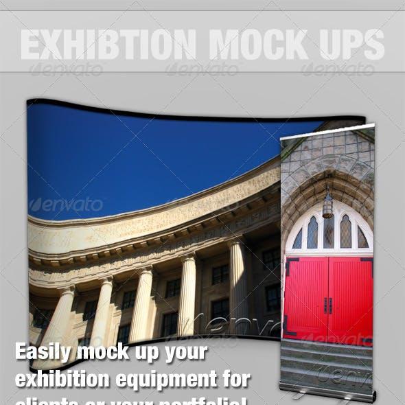 Exhibition Mock-up Kit - Photoshop