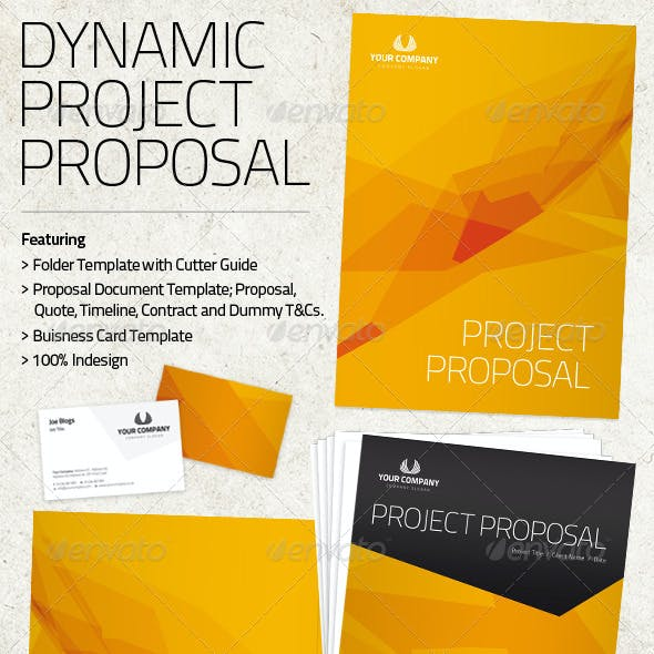 Dynamic Project Proposal Pack