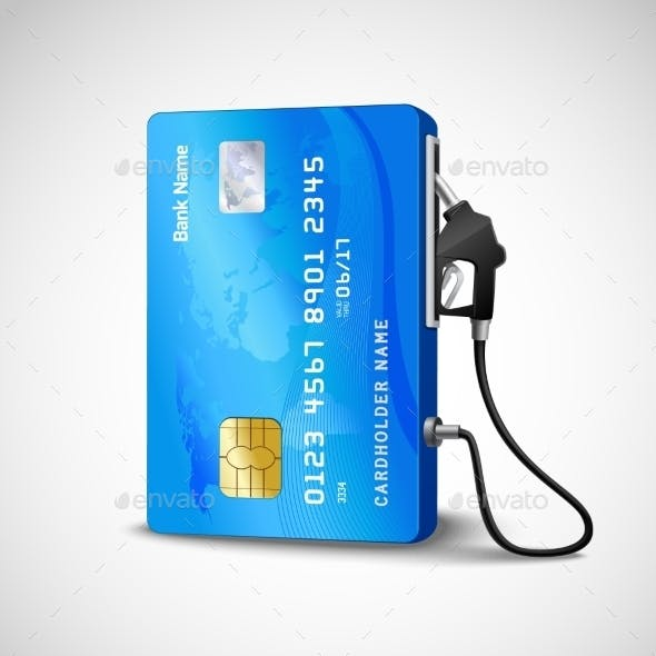 Credit Card Gas Station