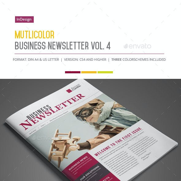 Business Newsletter Vol. 4 (Multicolor)