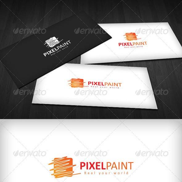 Pixel Paint Logo
