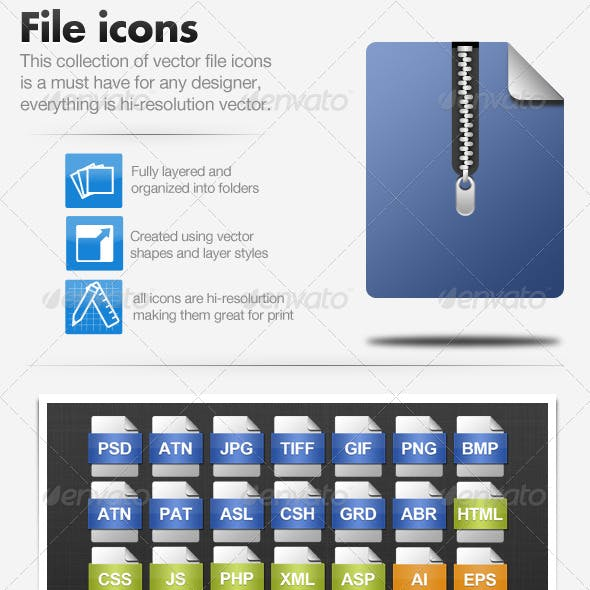 File icons - 41 Icons