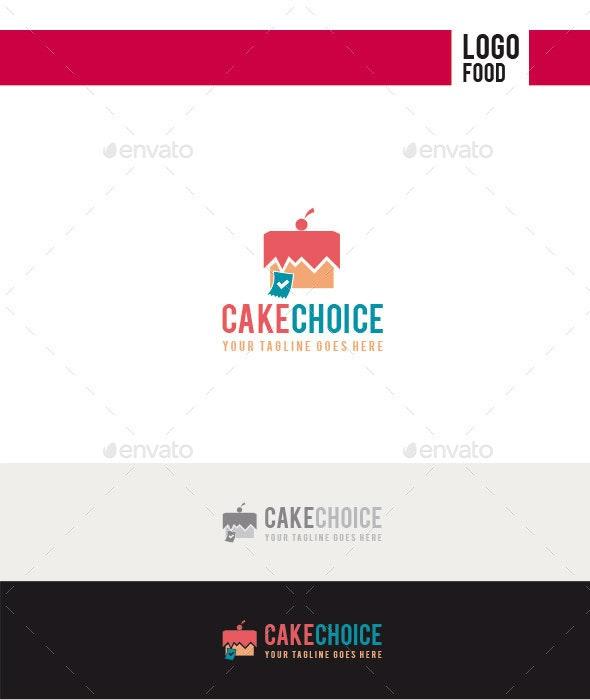 Cake Choice Logo - Food Logo Templates