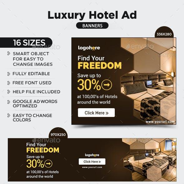 Luxury Hotel Banners