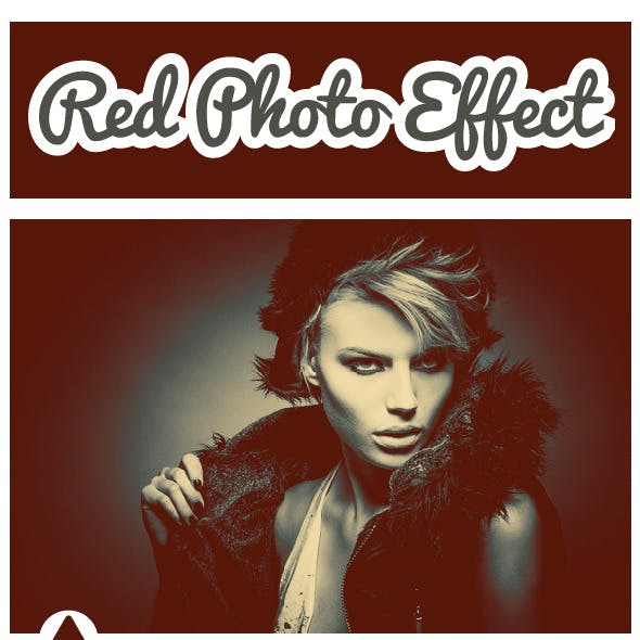 Red Photo Effect