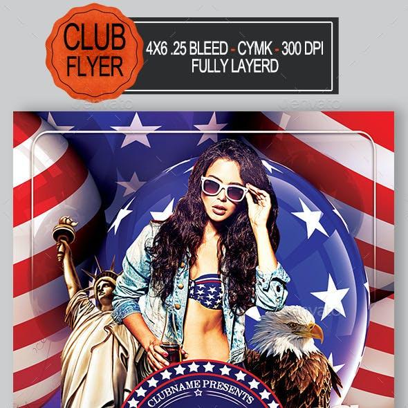 4th July Flyer