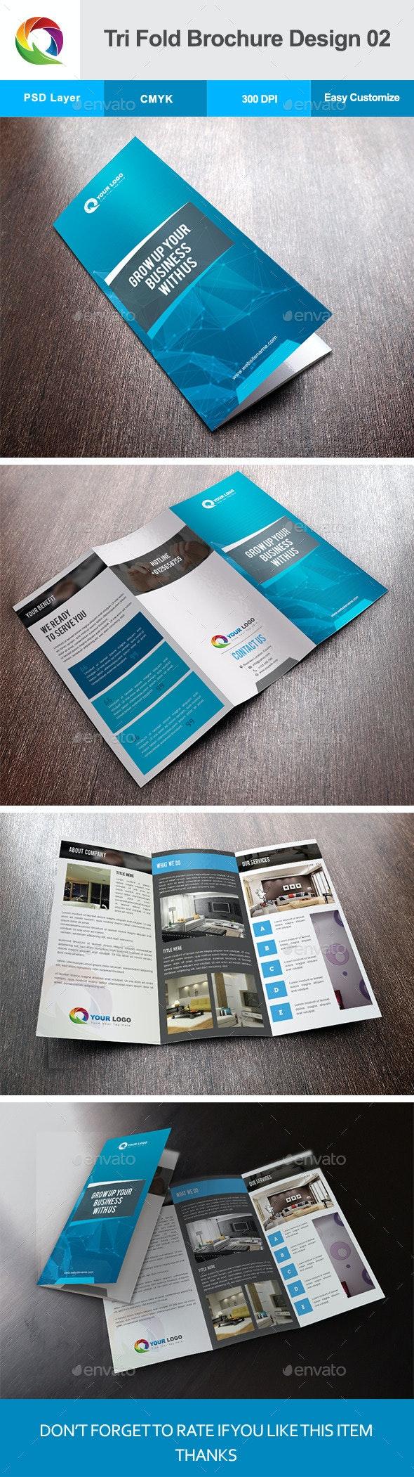 Tri Fold Brochure Design 02 - Corporate Brochures